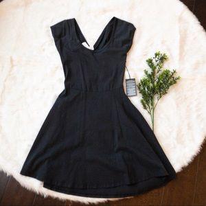 Forever 21 black skater dress